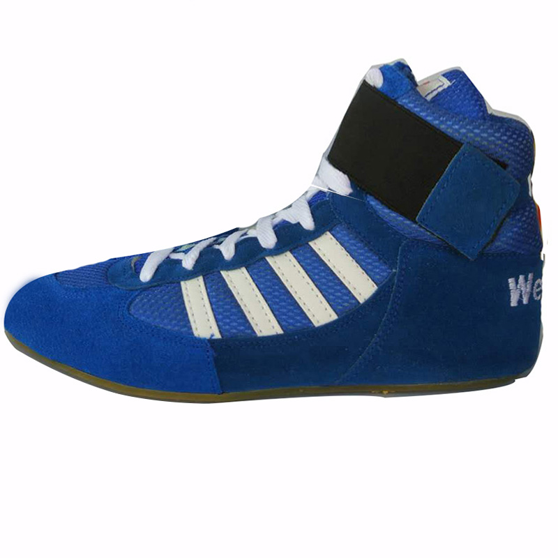 Authentic VeriSign wrestling shoes for men training shoes tendon at the end leather sneakers professional boxing shoes worship the elder brother of the men and women athletic shoes head layer cowhide beef tendon counters authentic 6