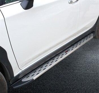 Aluminium Treeplank Side Step Nerf Bar Fit voor Subaru Alle nieuwe XV Crosstrek 2018