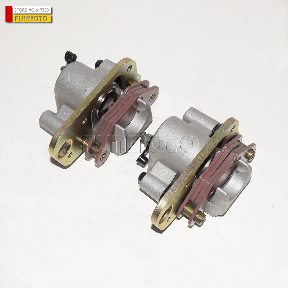 front left and  right  Brake caliper suit for LINHAI 260 ATV/260CC QUAD front left and right brake caliper suit for atv xplorer 250 400 1999 2002 4x4