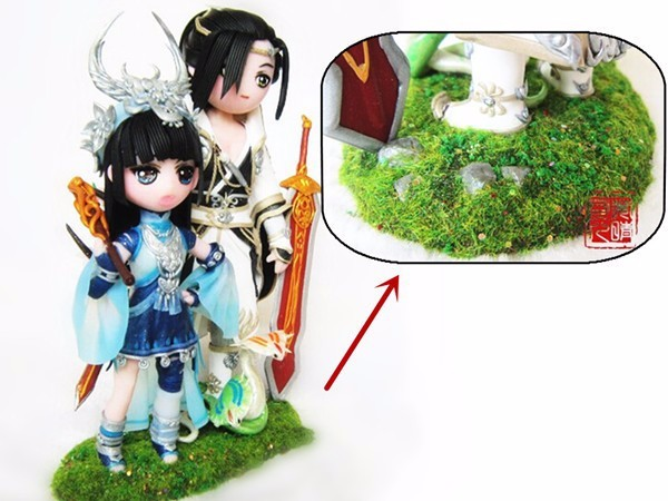 Sandbox Game Model Decor grass