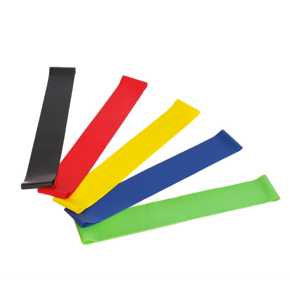 Loops-Band Strength Training Fitness Elastic Workout Yoga 5pieces-Resistance-Bands Home