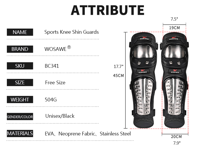 Knee Pads Motocicleta Motocross Armadura Equipamentos de