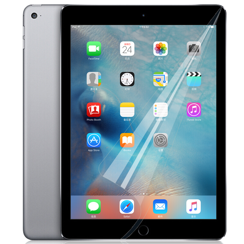 2pcs For Apple IPad 2 3 4 Clear Soft Screen Protector Front Screen Guard Protective Film For IPad Mini 2 3 4 IPad Pro 9.7 Inch