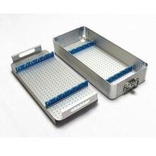 Контейнер для стерилизации эндоскопических Лапароскопических Инструментов, высокотемпературное медицинское оборудование, контейнер для хранения