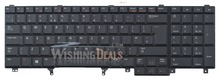 New For Dell Precision M4700 M4800 M6700 M6800 keyboard UK layout black color with backlit