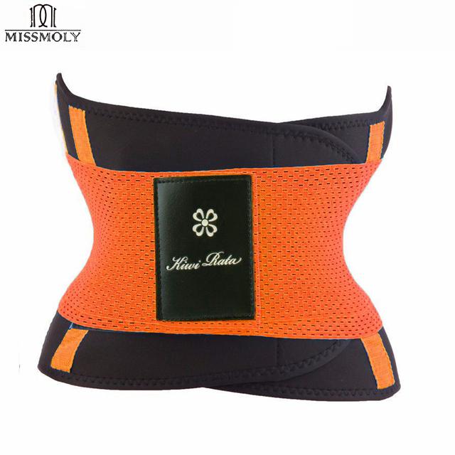 KIWI RATA'S Fitness Belt Xtreme Power(original) Pink,Blue,Black Thermo Shaper Waist Trainer Corset Postpartum Belt