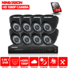 8CH AHD NH 2 0MP HD 1080P Security Dome Camera CCTV System Kit 16 Channel Video