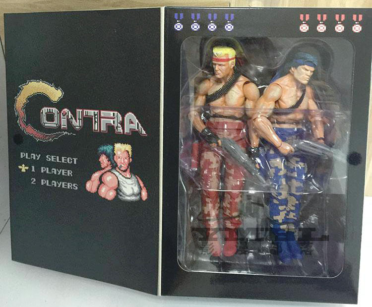 Hot Sale NECA Contra Bill & Lance Video Game Appearance Action Figure (2 Pack), 7 востоков с в не кормить и не дразнить page 9