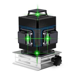 Image 3 - Niveau Laser 16 lignes ligne verte 3D auto nivelant 360 niveau Laser Super puissant Horizontal et Vertical niveau laser faisceau vert