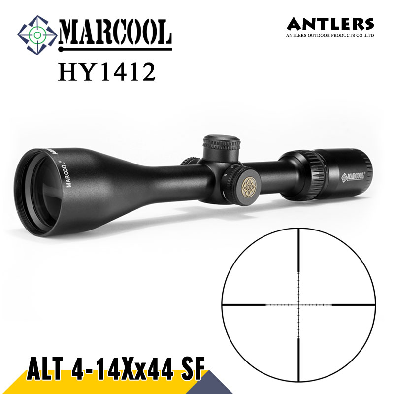 MARCOOL ALT4-14X44 SF RIFLESCOPE Tactical rifle scope mil dot Airgun OPTICAL SIGHT RifleScope hunting rifle and Pcp airgun tactial qd release rifle scope 3 9x32 1maol mil dot hunting riflescope with sun shade tactical optical sight tube equipment
