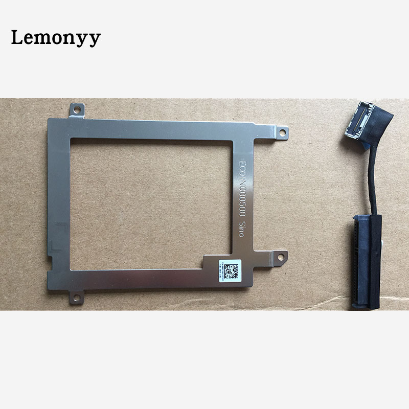 NEW for Dell Latitude E7440 HDD caddy bracket with SATA Connector Cable HH0YC HH0YC 0HH0YC cn-0HH0YC DC02C004K00 hsw 11 1v 31wh laptop battery for dell latitude 12 7000 e7240 latitude e7240 latitude e7250 latitude e7440 akku