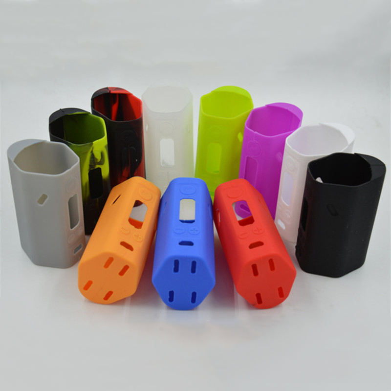 10PCS <font><b>RX200</b></font> Silicone Cases Silicon Case Soft Rubber Sleeve Protective Covers Skin For <font><b>Wismec</b></font> <font><b>Reuleaux</b></font> <font><b>RX200</b></font> TC RX 200 Mod image