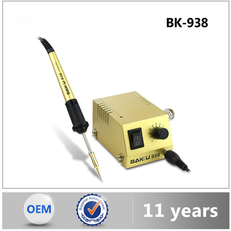 BK-938 mini desoldering station soldering iron, mobile phone / computer repair tools, constant temperature soldering station