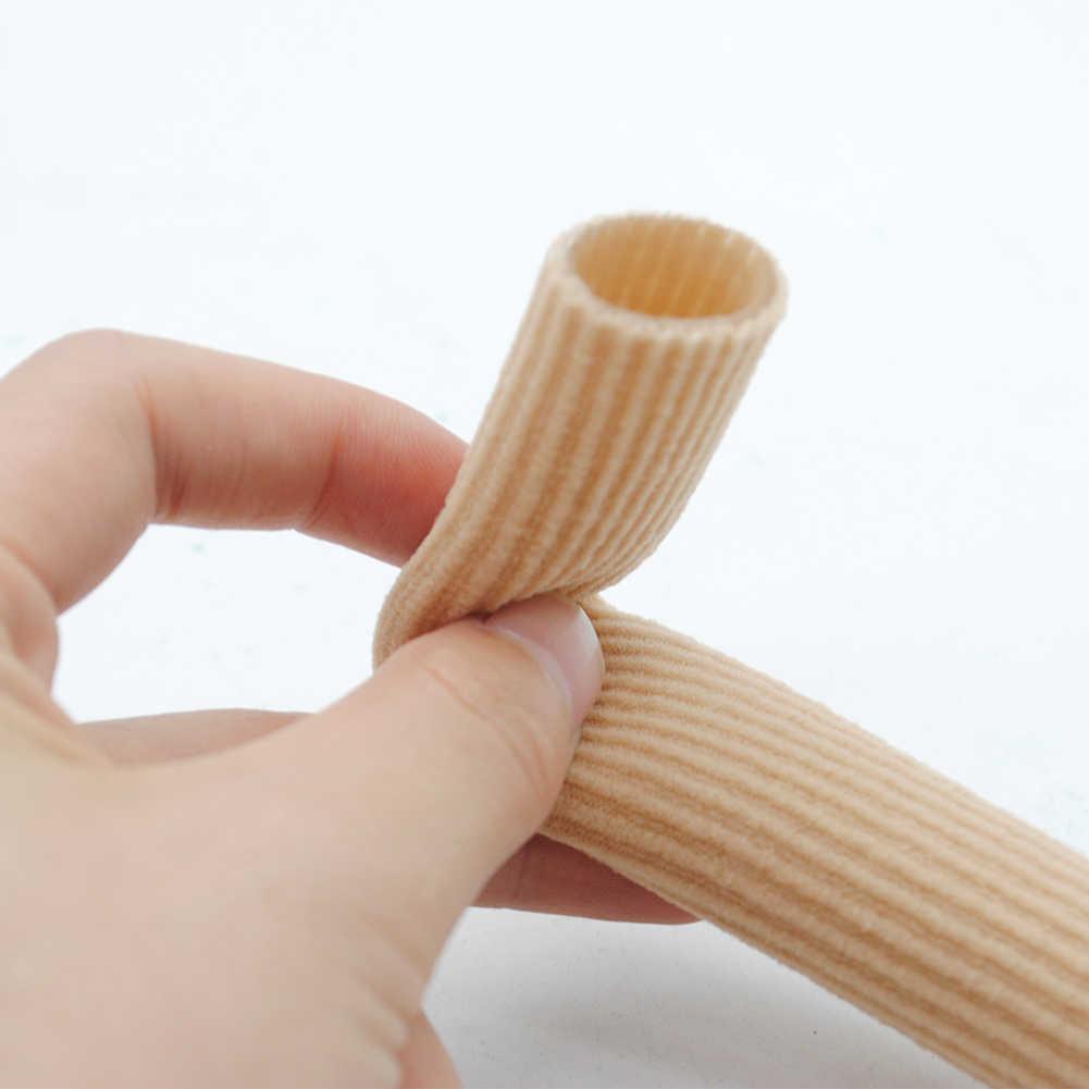 Protecteur d'orteils Hallux Valgus orthopédie Bunion garde tissu + Gel Tube coussin cors et callosités pieds soins semelles