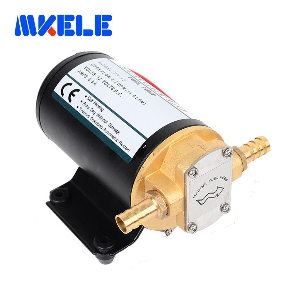 FP-12 fuel transfer pump Horizontal Total Copper Material Gear Oil Pump Oil Diaphragm Pump triangle oil pump top 10a rop 11a top 12a top 13a trochoid gear pump
