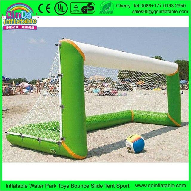 Дешевые Цены 3.0*1.0 м Надувные Футбольные Ворота, надувной Пляжный Футбол Цель Для Продажи