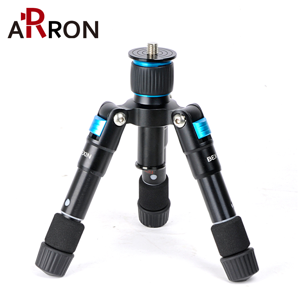 Hot BEXIN MS08 ULTRA COMPACT Desktop Macro Mini Tripod Kit With Ball Head For Compact DSLR's And Camcorders On Desktop