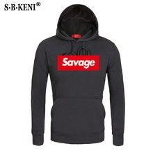 cb89eebd52c9 Cotton 21 Savage Street Wear Suprem men and women Hoodies Parody No Heart X  Savage Fear Of God Hoodie Sweatshirt Men Hip Hop