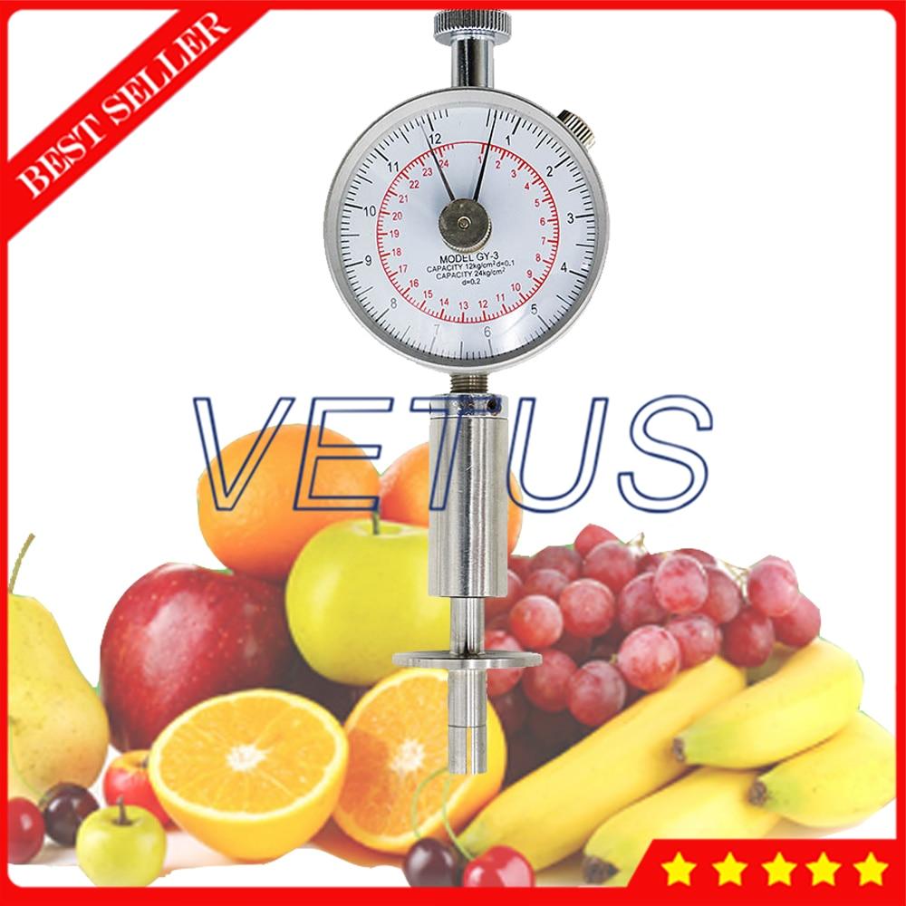 GY 3 Analog 0 5 to 12kg cm 2 Fruit Hardness Tester Sclerometer penetrometer