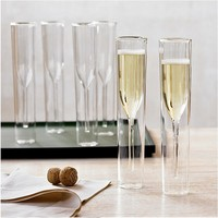 Elegant Goblet Champagne Flute Glass Toasting White Red Wine Glass For Vodka Cup Wedding Party Dinner