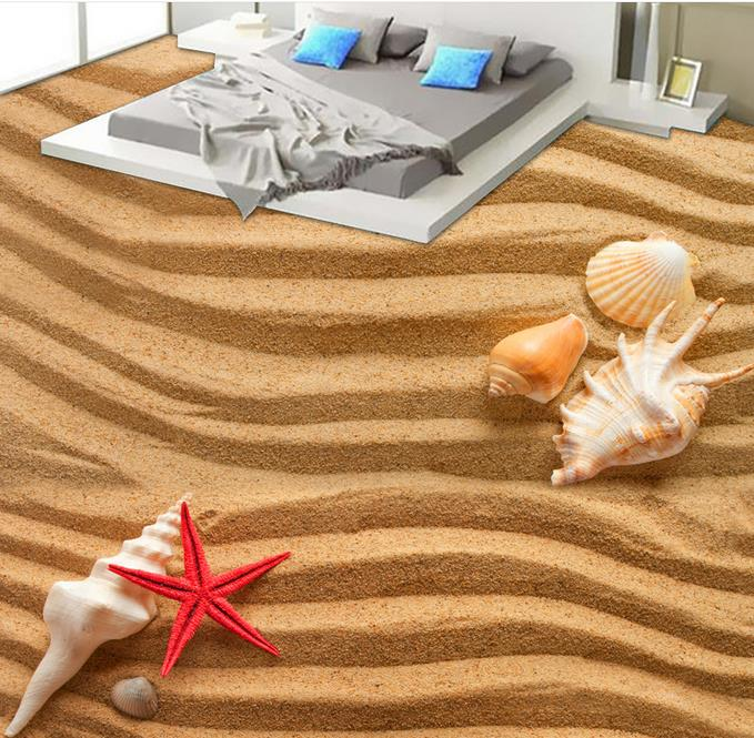 Beautiful 3d floor murals Beach shells wallpaper for bedroom walls 3d floor wallpaper-self-adhesive flooring colorful wallpapers 3d flooring underwater murals hd coral 3d floor wallpaper for bedroom walls vinyl floor wallpaper 3d for children room