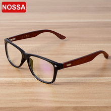 94291288a8 NOSSA Handmade Wooden Classic Glasses Frame Women Men Vintage Myopia Eyewear  Bamboo