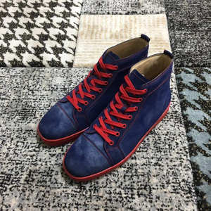 clandgz Men Red bottom Shoes Sneakers leather casual 2018 8dc07891af97