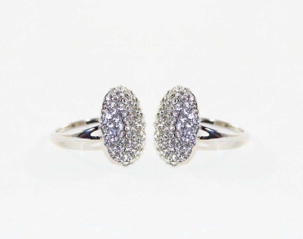 Zrm fashion silver charm twilight bella crystal ring replica engagement wedding ring jewelry vale movie jewelry