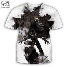 PLstar Cosmos t shirts summer shorts sleeve mens/womens t-shirt hip hop top teesBlack Panther 3D printed Drop shipping