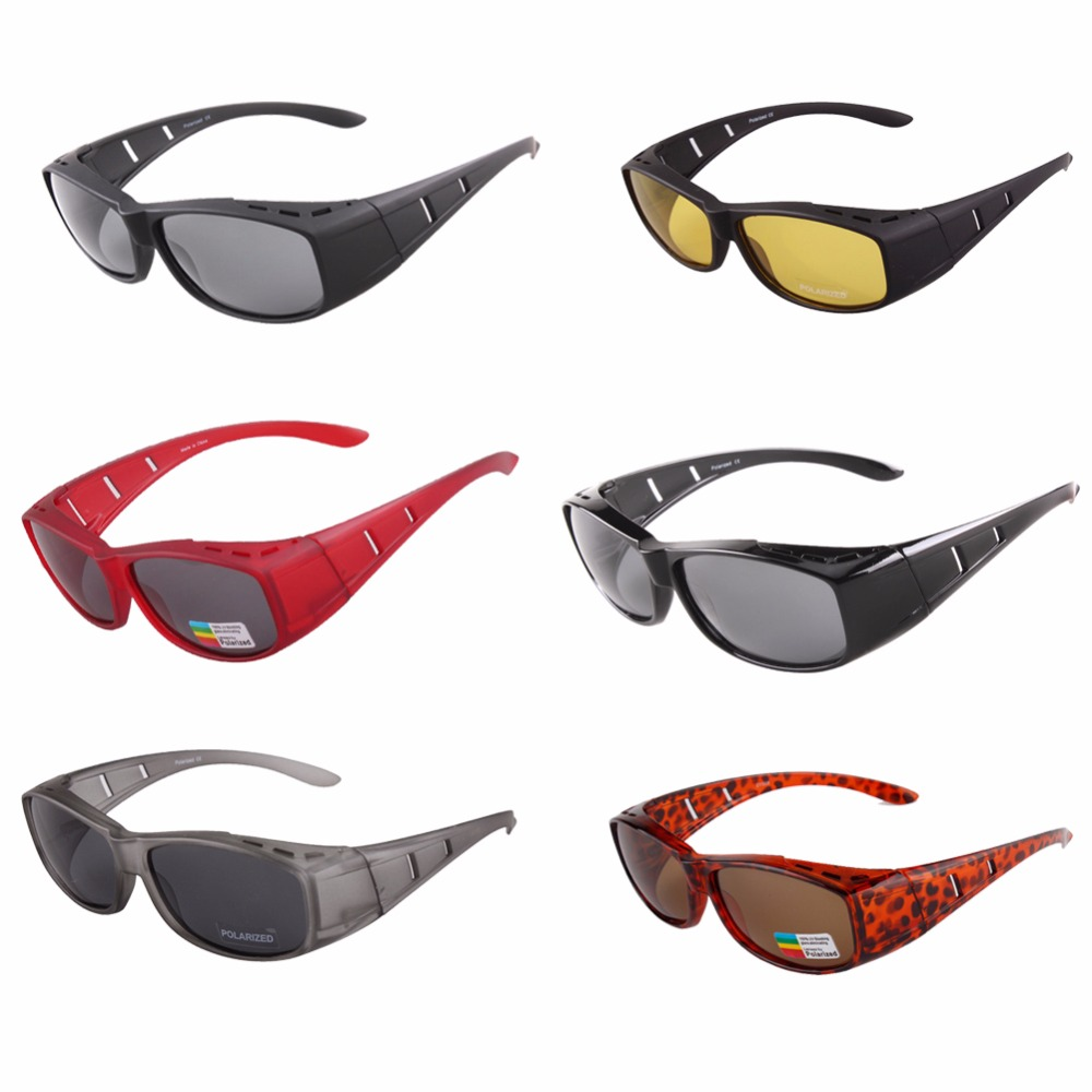 a22937c24e Aliexpress.com   Buy DY008 Polarized Lens glasses Fit Over sunglasses  Covers Wear Prescription Glasses driving Men Women sunglasses fishing from  Reliable ...
