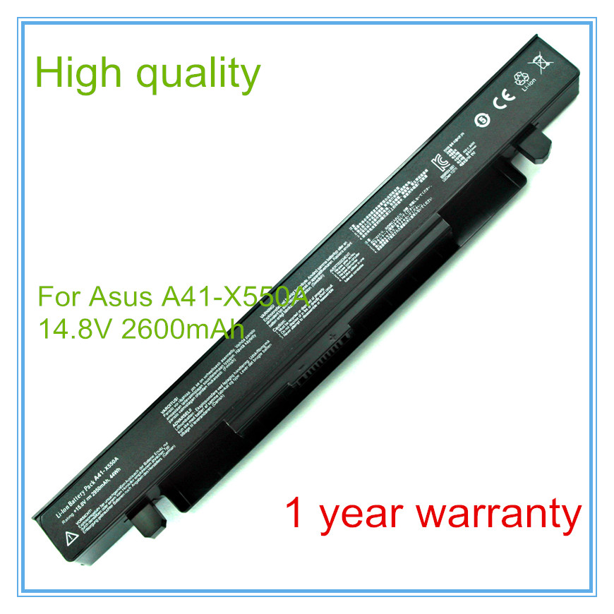 все цены на Replace Laptop battery for X450C A550C A550X X550 X550A X550B X550C X550D X550V X550X A41-X550A онлайн
