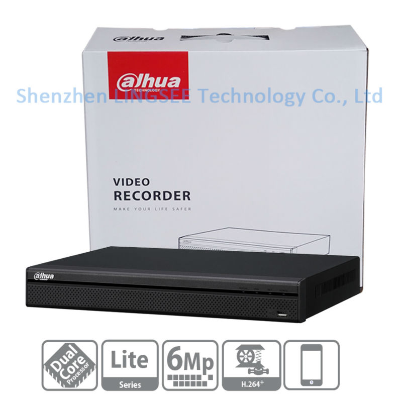 Dahua Original Englsih version NVR 4CH 8CH NVR2104 2108HS S2 up to 6Mp Recording 1080P Onvif