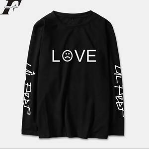 b2347745119 LUCKYFRIDAYF 2018 Long Sleeve Cotton Hip Hop T-shirt Top