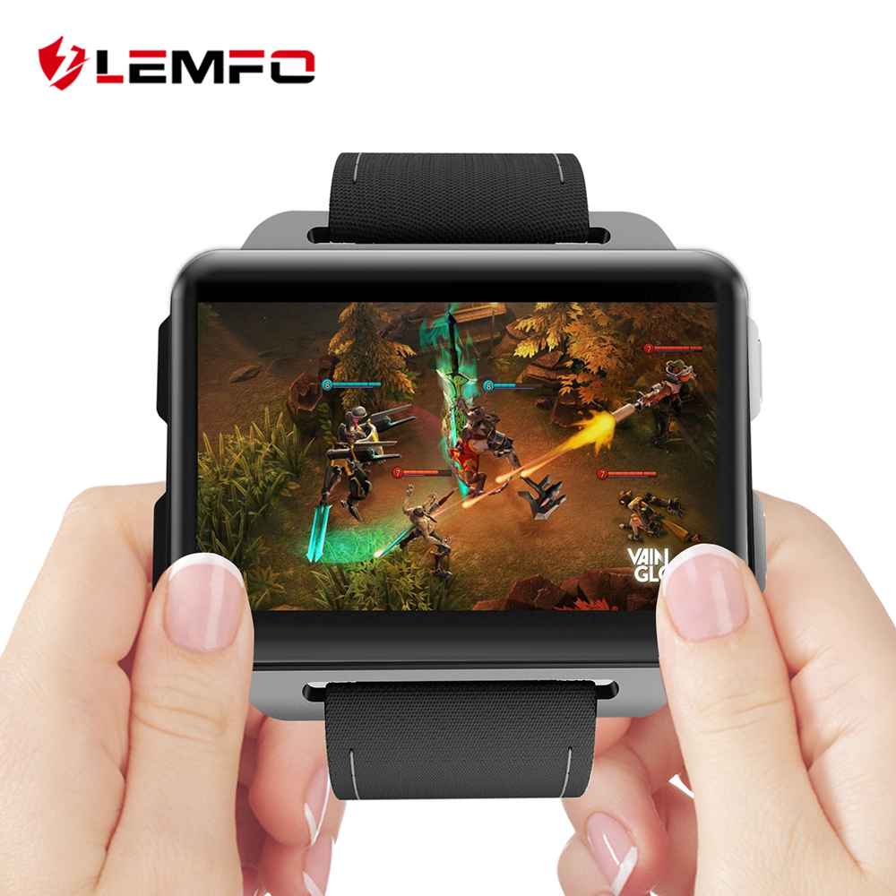 LEMFO LEM4 Pro 2 2 inch Big Screen Game Android Smart Watch 3G 1GB 16GB Large