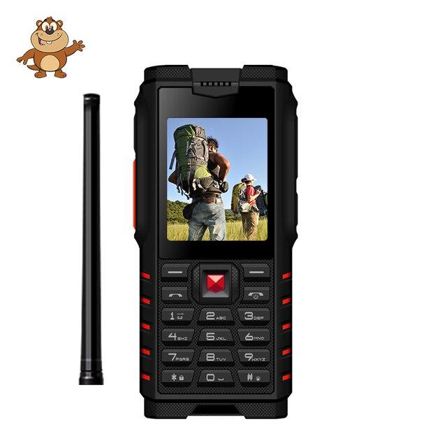 ioutdoor T2 Rugged Phone IP68 Waterproof Shockproof Cold Resistant Walkie talkie Powerbank Flashlight 4500mAh Multilingual langu