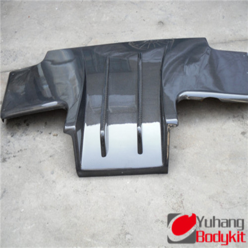 FRP TOP SECRET TYPE 2 REAR DIFFUSER WITH FITTING KIT FOR