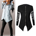 New Women HoodiesLletter long-sleeved hooded Harajuku Plus Size wear Coat WY-01