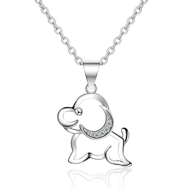 Fashion Jewelry Simple Lady Zodiac Puppy Pendant (single Pendant)