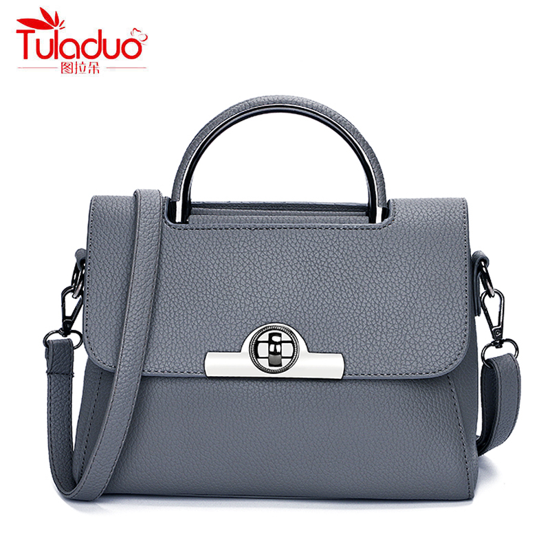 Fashion Small Lock Women Handbags High Quality PU Leather Women Crossbody Bags Famous Brand Designer Shoulder Bag For Ladies bailar fashion women shoulder handbags messenger bags button rivets totes high quality pu leather crossbody famous brand bag
