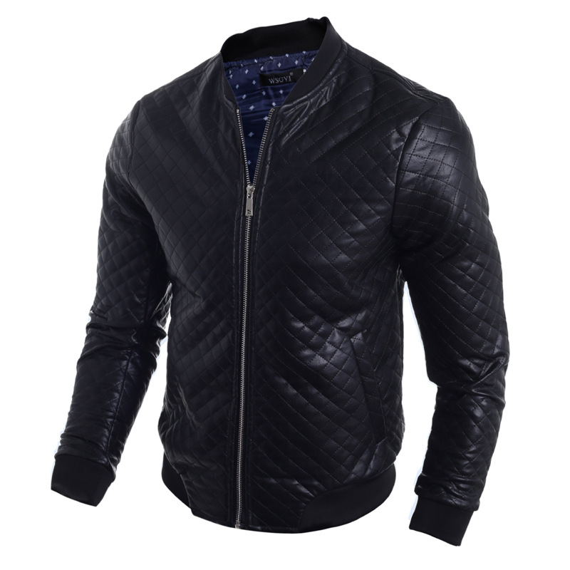 fashion style mens winter leather jacket best selling mens