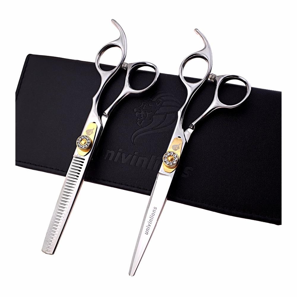 """6 """"hett hår sax japansk frisör sax försäljning frisör kit professionella hår skärande saxar för frisörsalong de coiffure"""