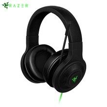 Оригинальный Razer Кракен Essential Шум изоляции Over-Ear игры гарнитура Киберспорт Gaming Headset наушники с микрофоном для ноутбука/ телефон