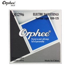 Original Orphee QB296 030-125 Electric Bass Strings 6 Strings bass Nickel Alloy Vigorous Tone guitar Strings