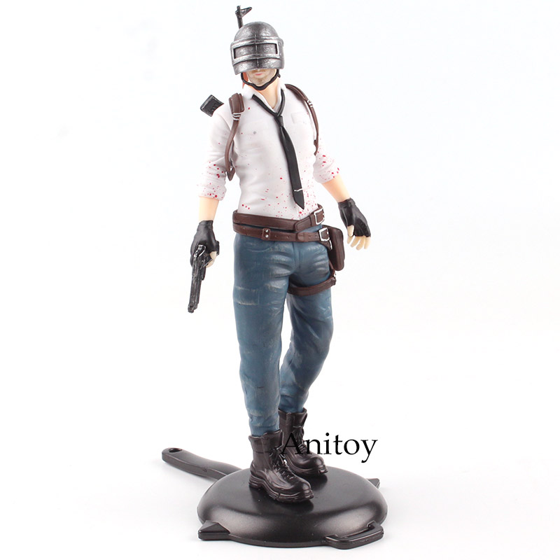 Playerunknown's BattleGrounds PUBG Men/Women GAME/BATTLE ROYALE PVC Action Figure Collectible Model Toy 17.5-18cm KT4785 player unknown s battle grounds pubg model doll pvc 12cm nendoroid game figurine action figure toy