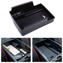 Beler ABS Nero Center Console Bracciolo Storage Box Tray Holder Misura Per Chevrolet Malibu 2016 2017 Styling Auto di Alta Qualità
