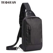 Tuguan Brand Chest Bag Anti Theft Travel Satchel Bags Casual Sling Flap Shoulder Crossbody Male Men Fashion Wholesale Handbags
