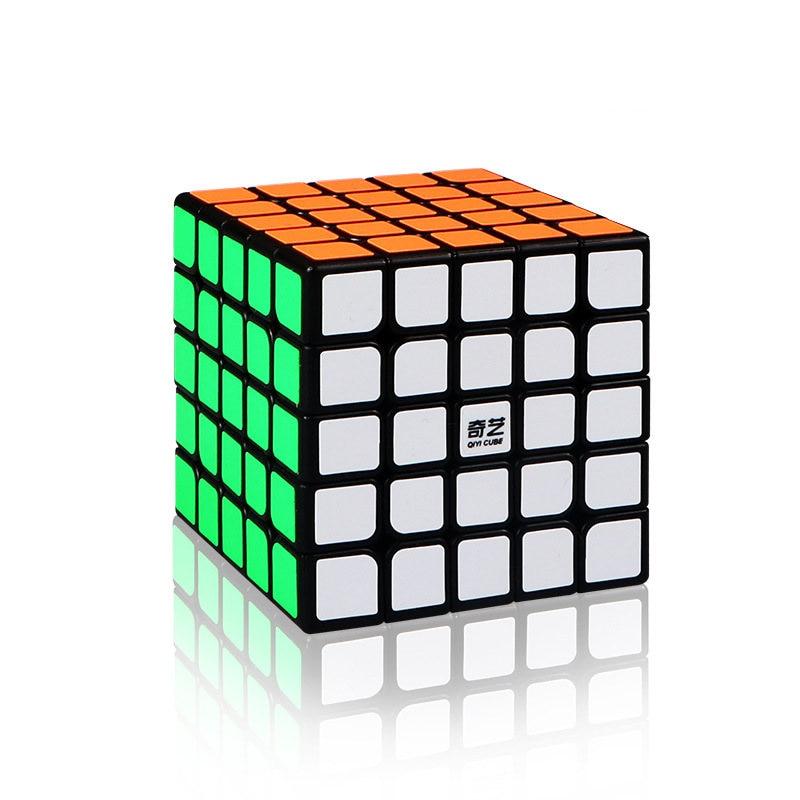 Cube Qiyi 5x5x5 Cubo Magico Qiyi Qizheng S Cube magique 5x5 sans colle Qizheng S Cube anti-stress 5 par 5 jouets pour enfants