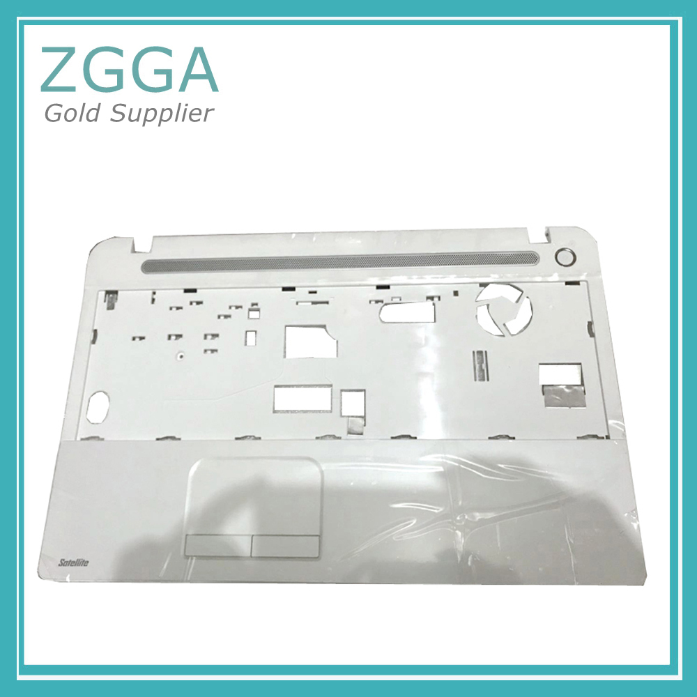 GENUINE Laptop Palmrest NEW For Toshiba Satellite C50 C50-A Series Upper Case Keyboard Bezel Cover WO Touchpad White V000320180