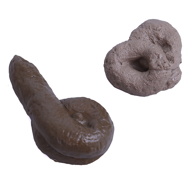 Turd gag gift realistic fake poop toys poo joke prank tricky gadget   I2