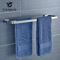Wall mounted 304 Stainless Steel Towel Rails Double Towel Bars Towel Racks Popular Towel Holder Bathroom Kitchen YANJUN 81948